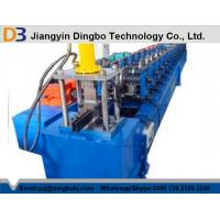Wholesale PPGI 45# Steel Solar Frame Roll Forming Machine With Siemens PLC from china suppliers
