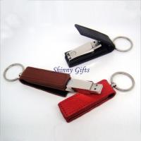 Quality leather swivel usb flash drive  for sale