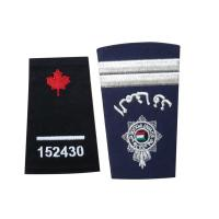 Wholesale Custom Embroidered Clothing Patch, Personalized Badges With Serging / Heat-Cutting Edge from china suppliers