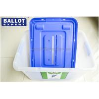 Quality Customized 60L Plastic Donation Boxes Injection Mould Model for General Election for sale
