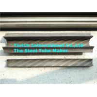 Wholesale Painted Rifle Seamless Carbon Steel Pipe With Fin On Two Sides from china suppliers