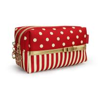 Buy cheap Cosmetic travel bag, made of polyester material, portable,OEM welcomed from wholesalers