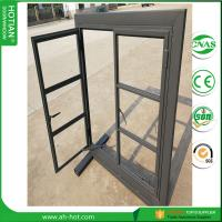 Quality American iron Grill iron window grill color 2017 latest window grill design steel caement windows with double tempred gl for sale
