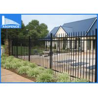 Quality Hot Dipped Welded Steel Panel Fence For Supermarket / School Security for sale