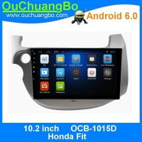 Wholesale Ouchuangbo 10.2 inch car gps navi radio for Honda Fit with MP3 MP4 1080P video USB android 6.0 system from china suppliers
