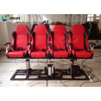 Wholesale Red / Black 5D Cinema System Customized Dynamic Theater System For Center Park from china suppliers