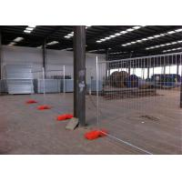 Wholesale Temporary Chain Link Fence Panels , Galvanized Construction Fencing OD 32 Pipes from china suppliers