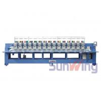 Wholesale 9 Needle 15 Head Flat Embroidery Machine For Shoes / T - Shirts from china suppliers