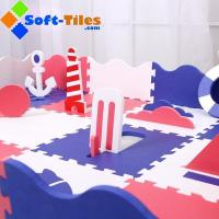 Buy cheap Children PlayMat With Rails Summer Design from wholesalers
