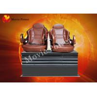 Wholesale Cinema / Museum 5D 7D 9D Motion Theater Seats With Back Poking from china suppliers