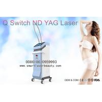 Wholesale ND YAG Laser Tattoo Removal Machine , 1320nm Laser Carbon Peeling For Skin Whitening from china suppliers