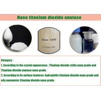 Wholesale Nano Titanium Dioxide Polygon Crystal , Anatase Tio2 With Higher Photocatalytic Activity from china suppliers