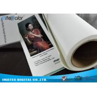 Wholesale Large Format 420gsm Inkjet Cotton Canvas Matte for Canon Plotters from china suppliers