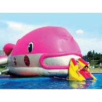 Wholesale Water Floating Games, Inflatable Obstacle Course In Pink Whale Model from china suppliers