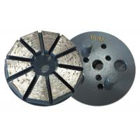 Wholesale Round Plate Vecro Backed Diamond Grinding Discs for Polishing Concrete floor /Concrete diamond grinding tools from china suppliers