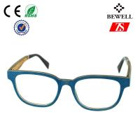 Wholesale Slimline And Urtal Thin Blue Sandalwood Wood Frame Sunglasses For Girl from china suppliers