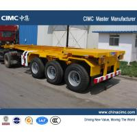 Wholesale CIMC manufacturer shipping container trailer , 20ft container trailer from china suppliers