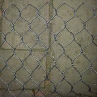 Wholesale hand woven stainless steel cable mesh for zoo exhibits from china suppliers
