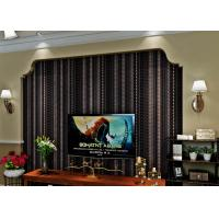 Wholesale Administration Luxury Black Velvet Flock Wallpaper Soundproof With Modern Style from china suppliers