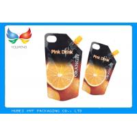 Wholesale Heat Seal Plastic Stand Up Energy Drink Liquid Juice Printed With Spout Bag from china suppliers