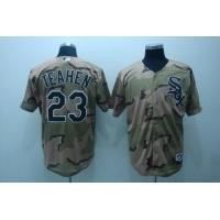 Wholesale White sox # 23 Teahen camo from china suppliers