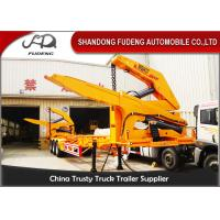 Wholesale MQH37A 37 Ton Container Side Lifter Trailer Side Loader Truck Trailer  20ft 40ft from china suppliers