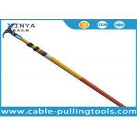 Wholesale Easy Maintenance Fiberglass Telescopic High Voltage Hot Stick With Length 3 - 12 Meters from china suppliers