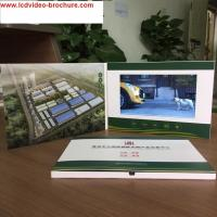 Wholesale Printing Video Booklet, Booklet With Smart buttons / video business card from china suppliers