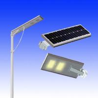Wholesale 15w motion sensor street light solar power street light led all in one from china suppliers