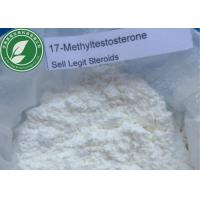 Wholesale Pharma Grade Steroid Powder Methyltestosterone 17-Methyltestosterone CAS 58-18-4 from china suppliers