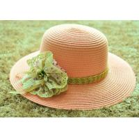 Wholesale ladies fashion straw hat lady bucket paper hat beach weave straw hat ladies woven sun hat from china suppliers