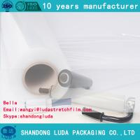 Wholesale 17mic lldpe stretch film 500mm width pe film stretch film manufacturer film pallet stretch film from china suppliers