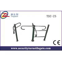 Wholesale Stainless steel Manual Pedestrian Turnstile Gate for residential / terminals from china suppliers
