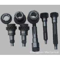 Wholesale Custom Precision Gears , Bronze Helical Gear W / Pin for Printer and Textile Machine from china suppliers