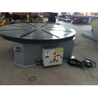 Wholesale Horizontal Rotary Welding Positioner 20 T With Foot Pedal Wireless / Remote Cable Control from china suppliers