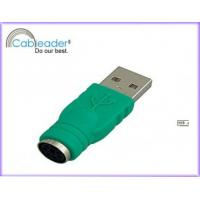 Quality Plastic mold / zinc alloy shell / metal shell cableader USB adapter male female for sale