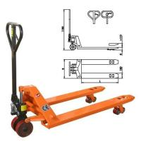 Wholesale 2.0 ton capcity yellow color Nylon wheel hand pallet trucks AC20 from china suppliers