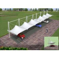Wholesale PVDF Membrane Tensile Car Parking Tent for Shade With Guarantee 10 Years from china suppliers