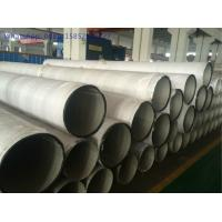 Wholesale ASTM A312 / A358 Welded Stainless Steel Pipe Class 4 TP316L TP304L ABS Approved from china suppliers