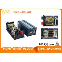 Wholesale CE Approved Off Grid 1500w Pure Sine Wave Solar Power System Inverter 45 - 65HZ from china suppliers