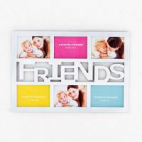 Wholesale Home decoration Funny forever friends theme six pictures plastic photo picture frame from china suppliers