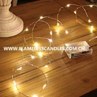 Wholesale 50 LED Battery Operated String Lights , Battery Powered Copper Wire LED String Fairy Lights from china suppliers