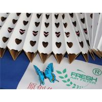 Wholesale Customized Spray Booth Pleated Filter Paper Folding For Hardware Painting from china suppliers