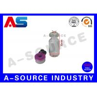 Wholesale Grey Rubber Sterile Injection 2ml Glass Vials With Corks For Steroids from china suppliers