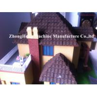Wholesale PPGI Color Stone Coated Roof Tile Machine Steel Roofing Sheet Making Machine from china suppliers