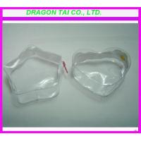 Wholesale Five-Star shaped pvc zipper bag, heart-shaped pvc bag from china suppliers