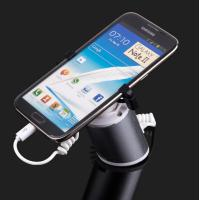 Wholesale COMER clamp lock security holder for mobile phone displays with charging cables and alarm sensor from china suppliers