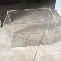 Wholesale Customized high quality acrylic display box clear acrylic shoe box from china suppliers