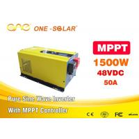 Wholesale FCC Certificated MPPT Solar Inverter 1500w With Low Battery Protection from china suppliers