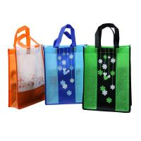 Wholesale 80gsm non woven fabric Non Woven Carry Bag Splicing matching fashionale colorful promotion bag from china suppliers